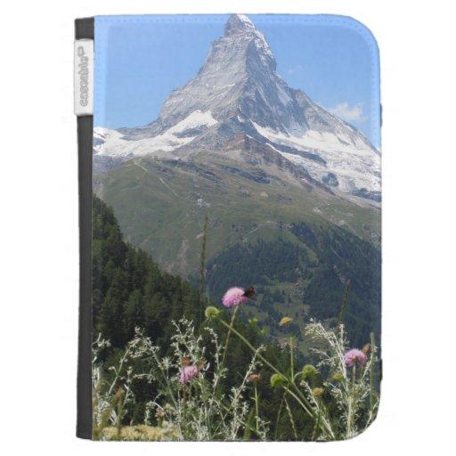 Matterhorn Mountain photo Case For Kindle
