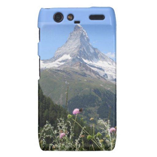Matterhorn Mountain photo Droid RAZR Covers