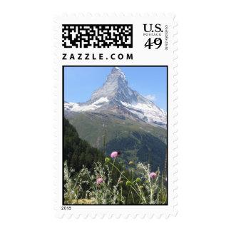 Matterhorn Mountain photo Stamps