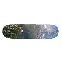 Matterhorn Mountain photo Skateboard