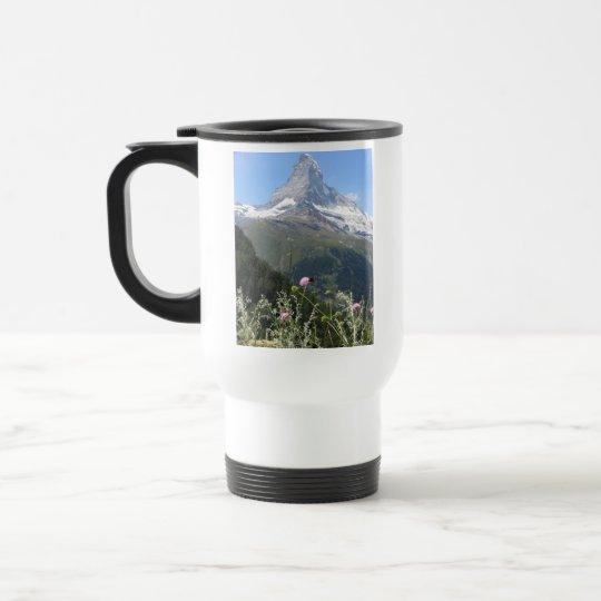 Matterhorn Mountain photo Travel Mug