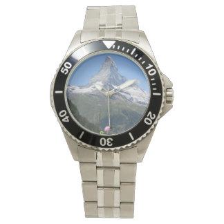 Matterhorn Mountain photo Wristwatch