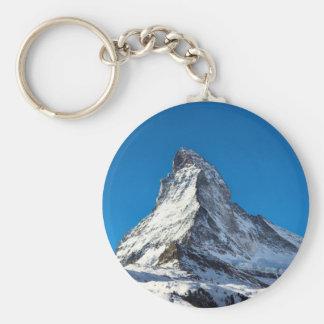 Matterhorn photo keychain