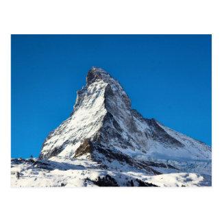 Matterhorn photo postcard