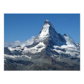 Matterhorn Photo Print Swiss Alps
