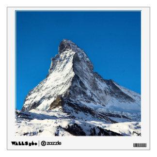 Matterhorn photo wall decal