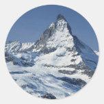 Matterhorn Round Sticker