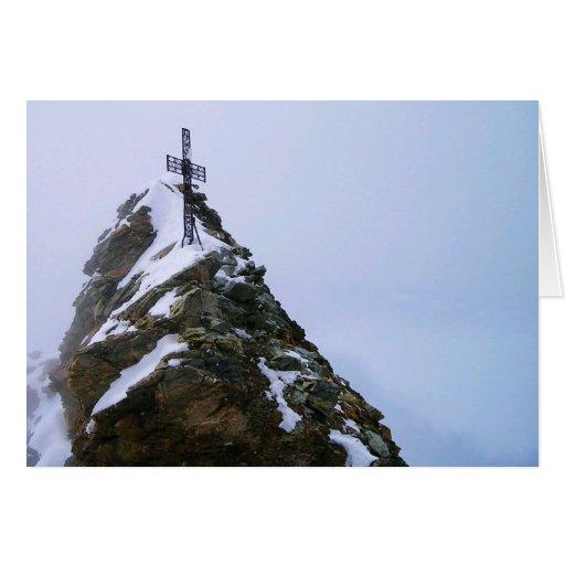 Matterhorn Summit Cross Blank Card