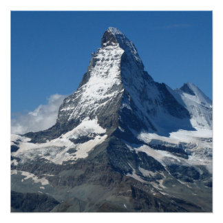 Matterhorn Swiss Alps Poster Paper