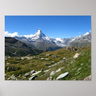 Matterhorn Swiss Alps Value Poster Paper (Matte)