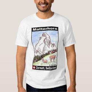 Matterhorn T-shirts