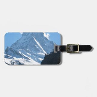 Matterhorn Zermatt Tag For Luggage