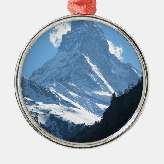 Matterhorn, Zermatt Metal Ornament