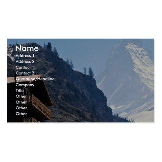 Matterhorn, Zermatt, Switzerland Business Card