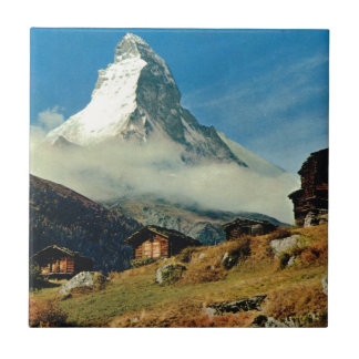Matterhorn, Zermatt, Switzerland Ceramic Tile