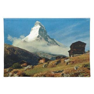 Matterhorn, Zermatt, Switzerland Cloth Placemat