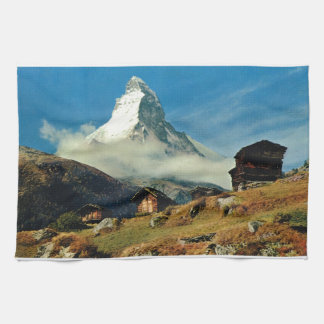 Matterhorn, Zermatt, Switzerland Kitchen Towel