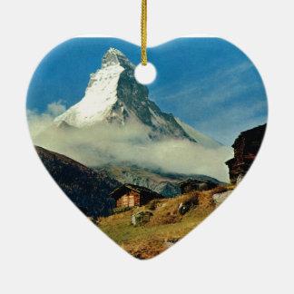 Matterhorn Zermatt Switzerland Ornaments