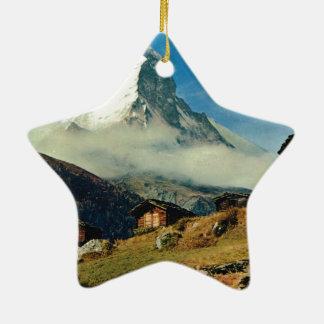 Matterhorn, Zermatt, Switzerland Christmas Tree Ornament