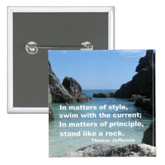 Matters of principle... button