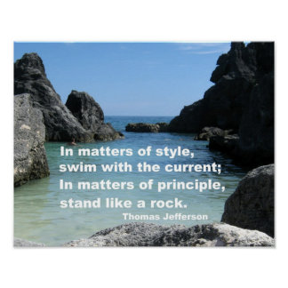Matters of principle... poster