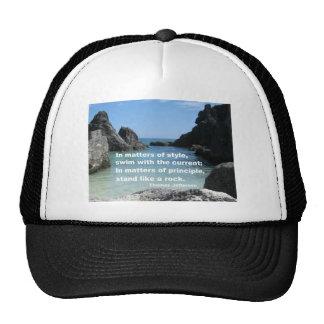 Matters of principle... trucker hat