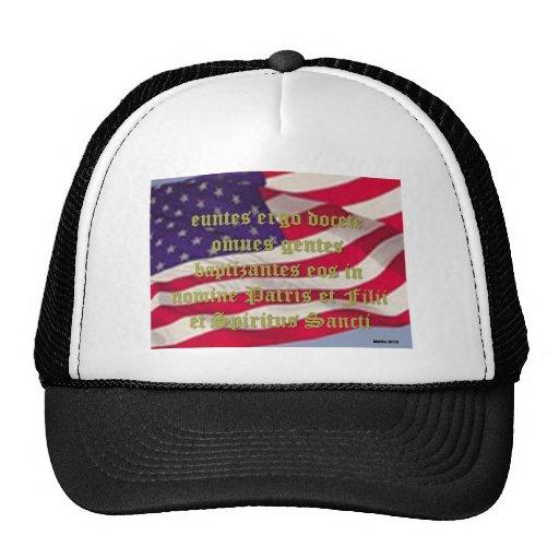 Mattew 28:19 trucker hat