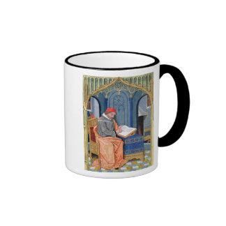 Matthaeus Platearius Ringer Coffee Mug