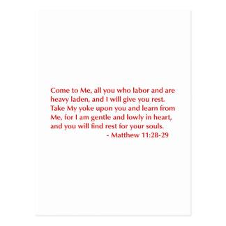 Matthew-11-28-29-opt-burg.png Postcard