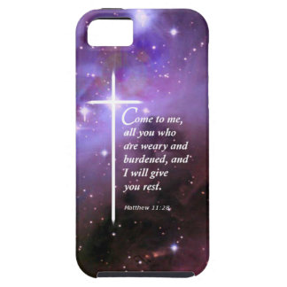 Matthew 11:28 iPhone 5 covers