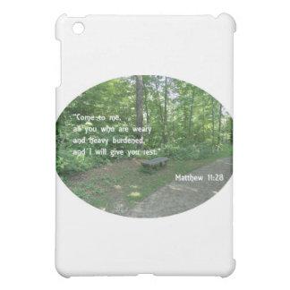 Matthew 11:28 iPad mini covers