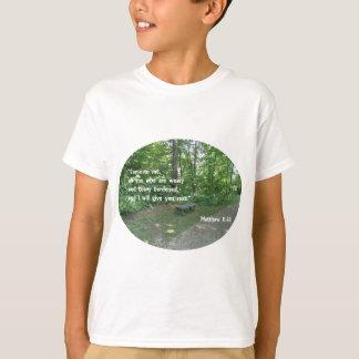 Matthew 11:28 T-Shirt