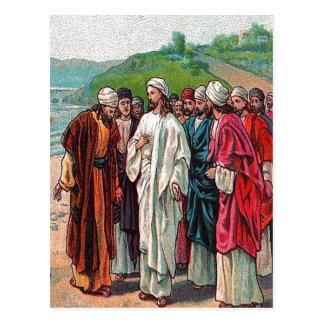 Matthew 16:13-14 Who Do Men Say That I Am postcard