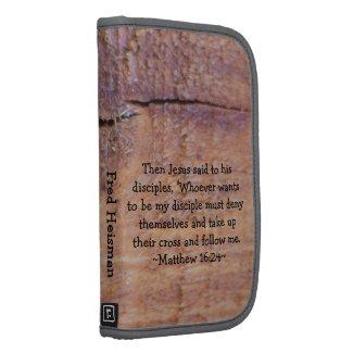 Matthew 16:24 Folio rickshawfolio