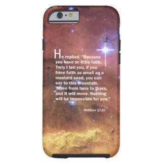 Matthew 17:20 iPhone 6 case