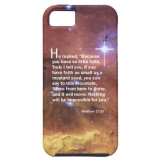 Matthew 17:20 iPhone SE/5/5s case