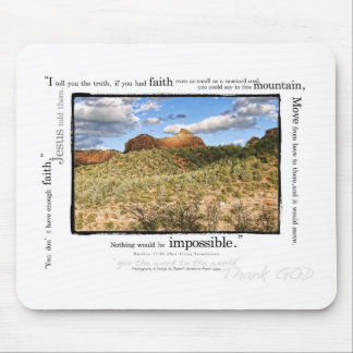 Matthew 17:20 mouse pad