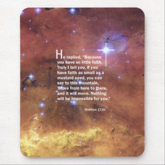 Matthew 17:20 mouse pad