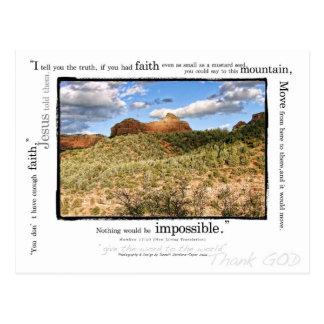 Matthew 17:20 postcard