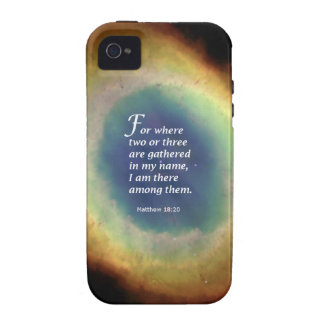Matthew 18 20 Case-Mate iPhone 4 covers