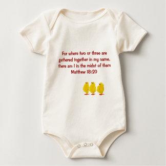 matthew 18:20 infant onsie creeper