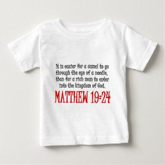 Matthew 19:24 baby T-Shirt