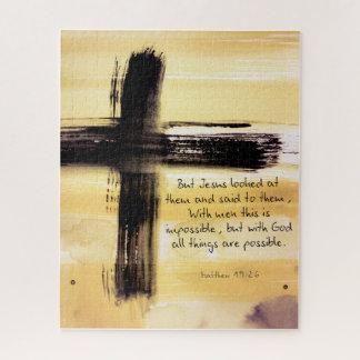 Matthew 19 26 Puzzle
