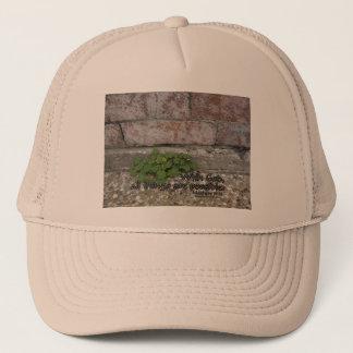 Matthew 19:26 trucker hat