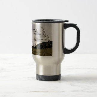 Matthew 19:26 With God, all things are possible Travel Mug