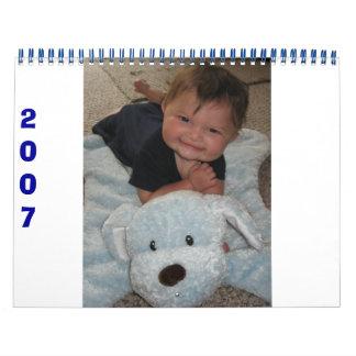 Matthew 2007 wall calendars