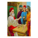 Matthew 25:14-30 Parable of the Talents poster