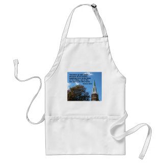 Matthew 28:`19 Therefore, go and make disciples... Adult Apron
