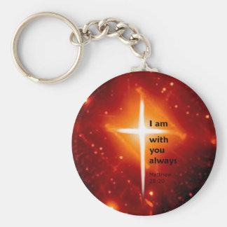 Matthew 28:20 key chains
