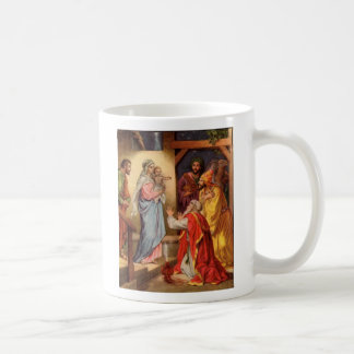 Matthew 2 11 They saw the young child with M Coffee Mug